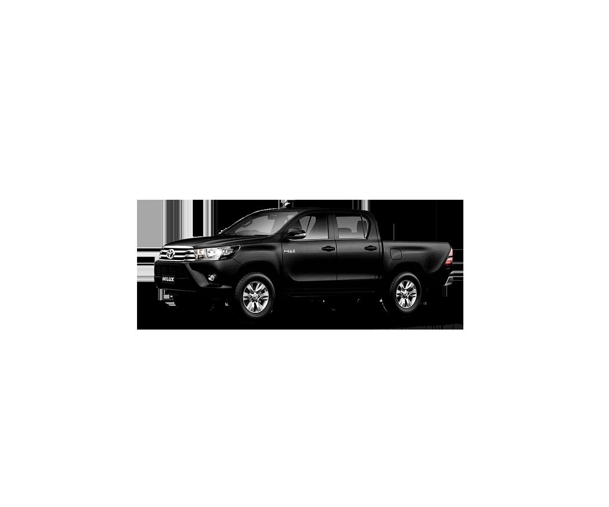 Camioneta Hilux Color Negro